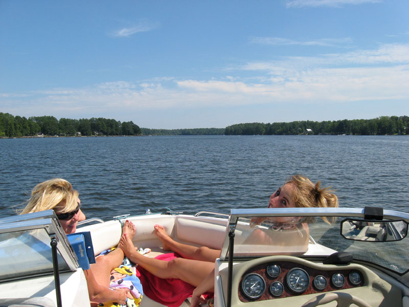 Do it at Lake Murray - tube, ski, boat, jetski