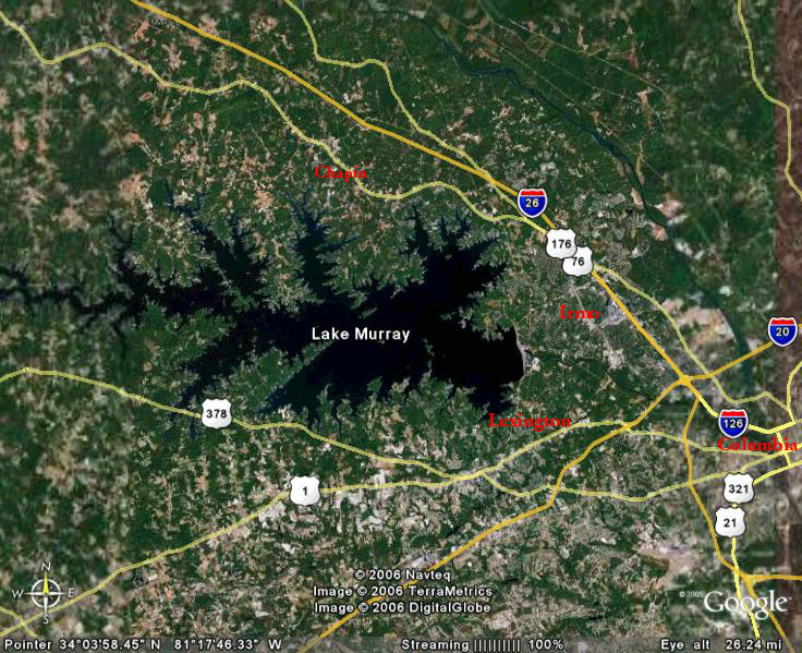 Uh oh for Lake murray fishing hot spots