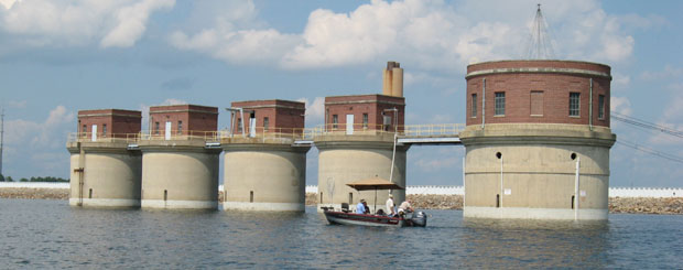 Dreher Shoals Dam at Lake Murray