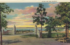 Click for Lake Murray Postcard